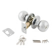 Door lock assembly on White Background