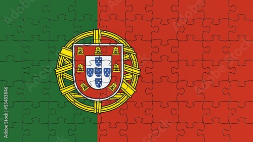 Portuguese National Flag