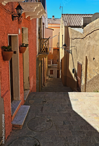 Sardinia - old town in Carloforte