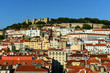 Castle of SГЈo Jorge and Alfama district in Lisbon, Portugal