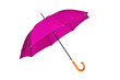 Purple, open an umbrella on a white background