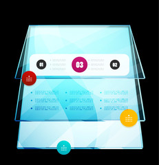 Infographics modern design template