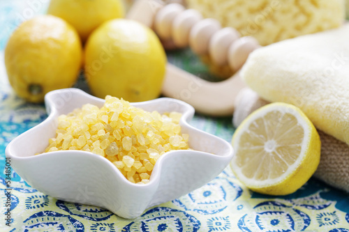 lemon bath salt