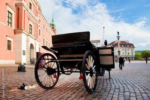 Krakowskie Przedmiescie, the old town of Warsaw, Poland © Photocreo Bednarek