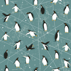 Penguin pattern