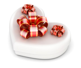 Love in gift box