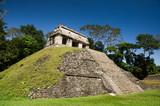 Palenque : Temple du comte ciel bleu 3