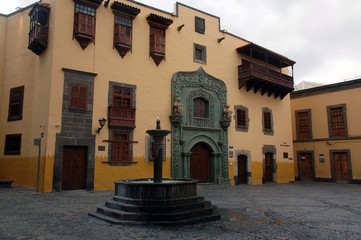 Christopher Columbus house in Gran Canaria