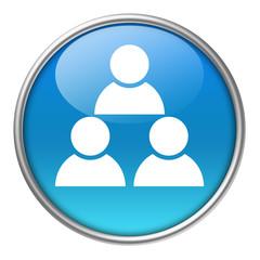 Bottone vetro social network 3
