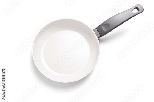 Studio shot of a frying pan