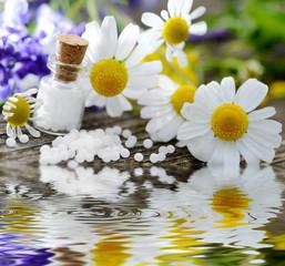 Globuli homeopathy water