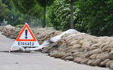 Einsatz im Katastrophengebiet