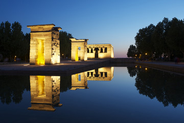 Debod Egyptian Temple