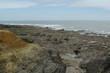 Felsformation an der Atlantikküste in Frankreich 13