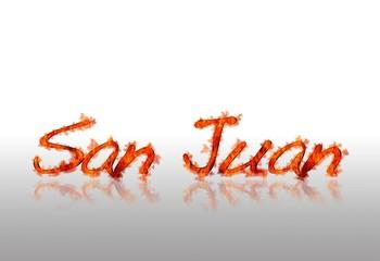 San Juan night.