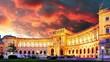 Vienna at sunrise - Hofburg, time lapse