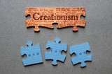 Creationism Matched and Evolution Mismatched Jigsaw