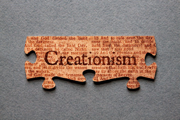 Creationism Jigsaw Matched