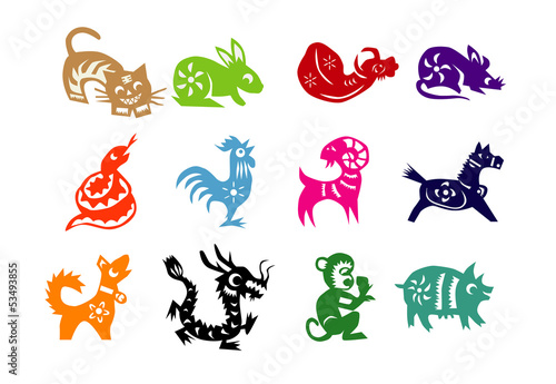 Animals of Chinese Calendar