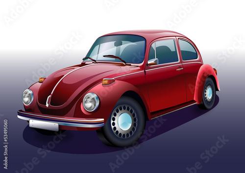 nostalgiczny-czerwony-samochod