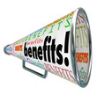 Benefits Megaphone Bullhorn Advertise Features of Product