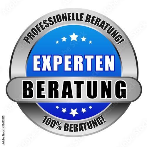 5 Star Button blau hell EXPERTEN BERATUNG PB 100