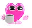 3d Heart takes a break