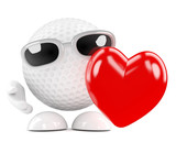 Golfball is in love