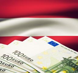 Austiran Euro Bills