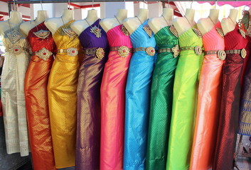 Traditional Thai Women Dress, Bangkok
