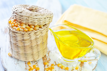 corn and oil