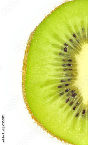 Macro of Kiwi Fruit