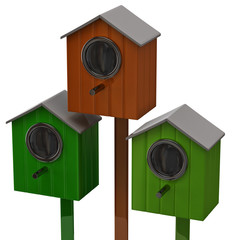 Starling houses
