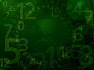 casino roulette numbers background
