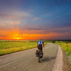 evening riding