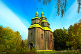 wooden church Pirogovo open air national culture museum