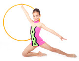 little rhythmic gymnast