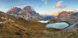 Nice mountain with lake - Italy Alps Dolomites - Tre Cime - Lago