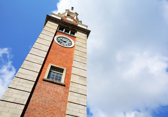 Clock tower in Tsim Sha Tsui , Hong Kong