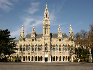 City hall in Wien,Austria