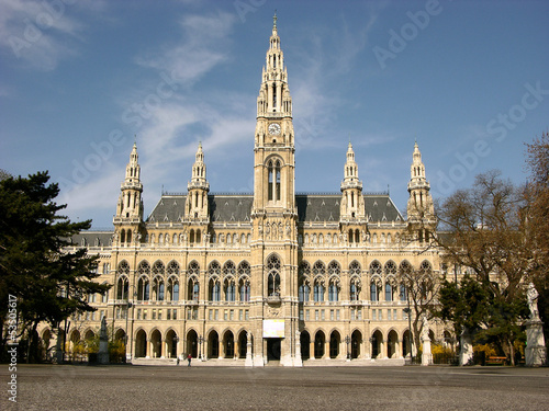 City hall in Wien,Austria