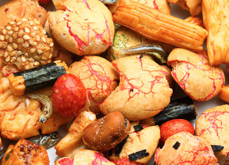 Japanese traditional rice cracker