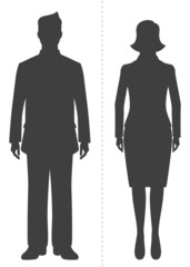 Male & Female - Business People