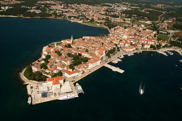 Porec,bird's eye view