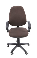 Office operators armchair isolated