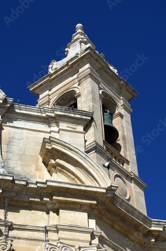 Church bell in Malta,Valleta