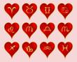 Сердце, зодиак
