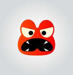 dangerous face - emoticon