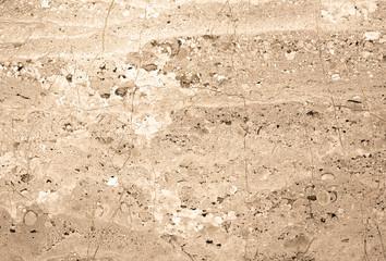 Beton, fragment ściany