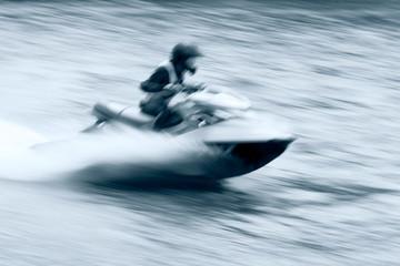 Jet ski motion